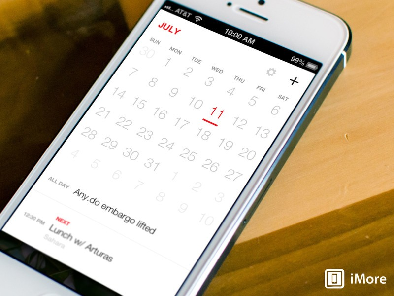 Any.Do Cal for iPhone review: Want an iOS 7 calendar experience now? Cal is it.