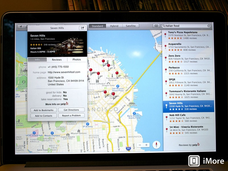 OS X Mavericks Preview: Maps help you find your way and integrate with iOS