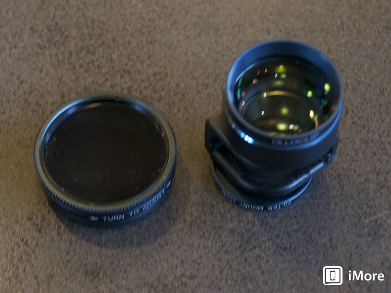 Olloclip Telephoto Lens and Circular Pol