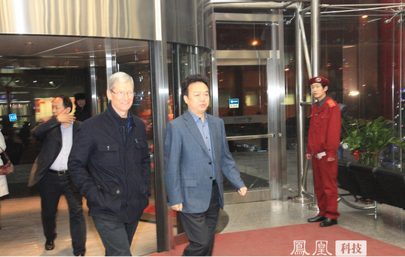 Tim Cook expresses sympathy for earthquake victims in Yunnan, China