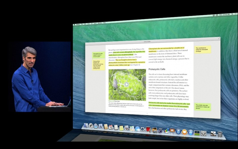 WWDC 2013 keynote iBooks notes