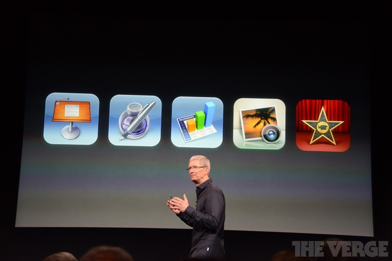 iWork, iPhoto, and iMovie for iOS going free with all new iOS devices