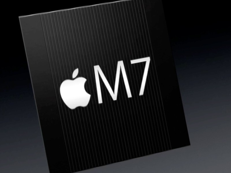 Apple M7 motion coprocessor