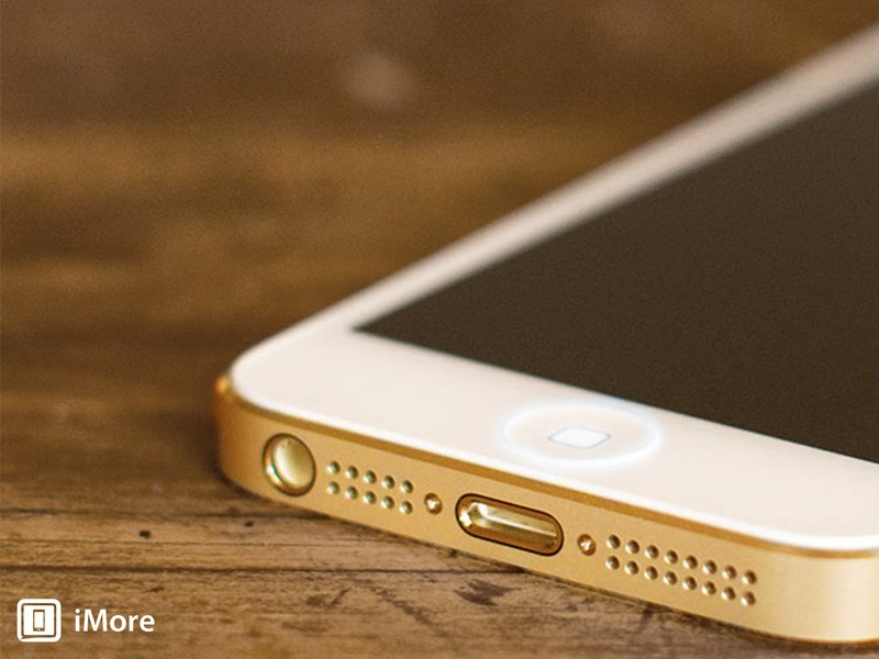 Imagining iPhone 5s and iPhone 5c: Fingerprint scanner, sensors, and ports
