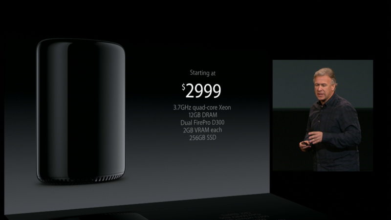 Mac Pro will be available before the end of the year, starts at $2,999