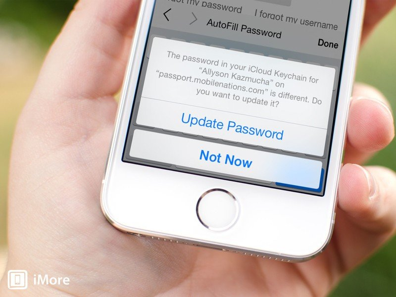 How to access and view your iCloud Keychain passwords with iOS 7