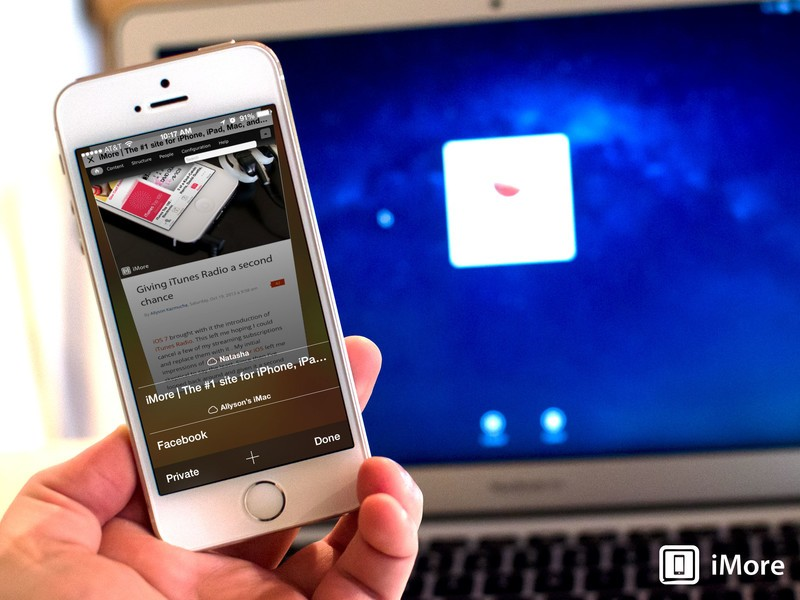 How to access iCloud Tabs on iPhone in iOS 7