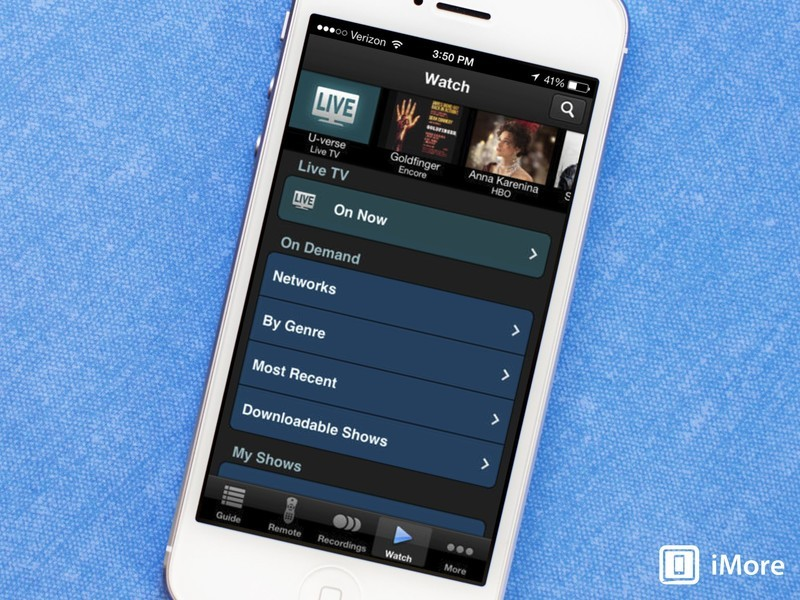 AT&T U-Verse apps updated, let users watch live TV at home or on the go