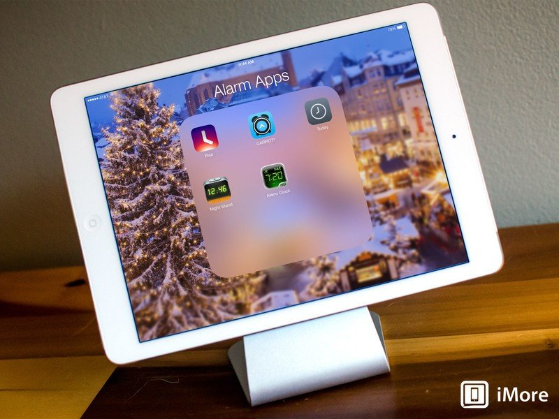 Best alarm clock apps for iPad: CARROT Alarm, Rise, Night Stand HD 2, and more!
