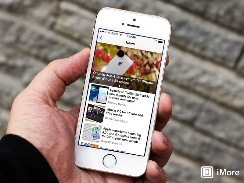 Which iPhone or iPad app do you reach for first in the morning?