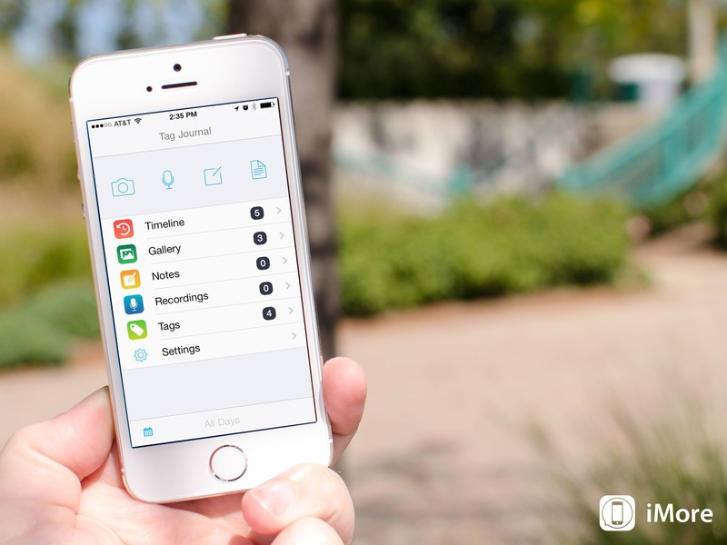 Tag Journal for iOS helps you capture the important moments, complete with Markdown support