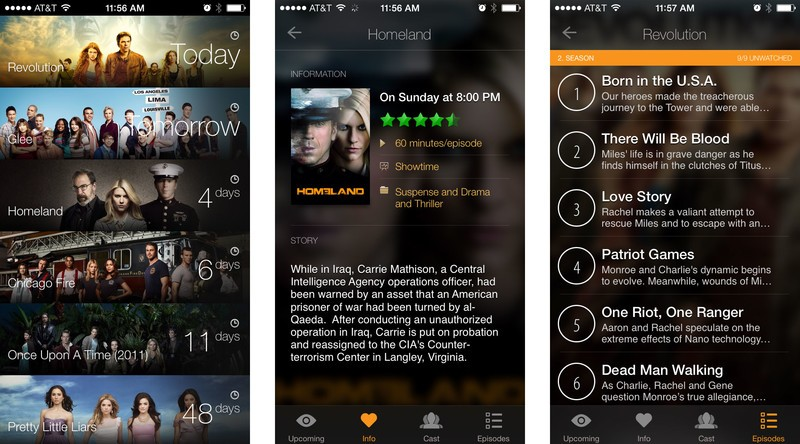 Best companion apps for TV and movie watchers: TeeVee 2
