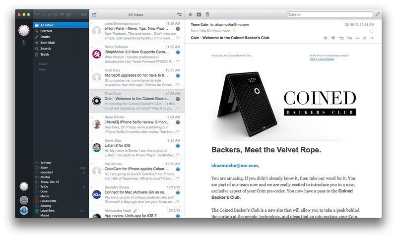 Best alternative Mail apps for Mac: Airmail