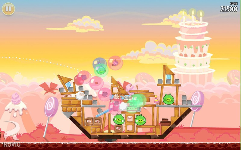 Angry Birds for Mac gets 15 new levels