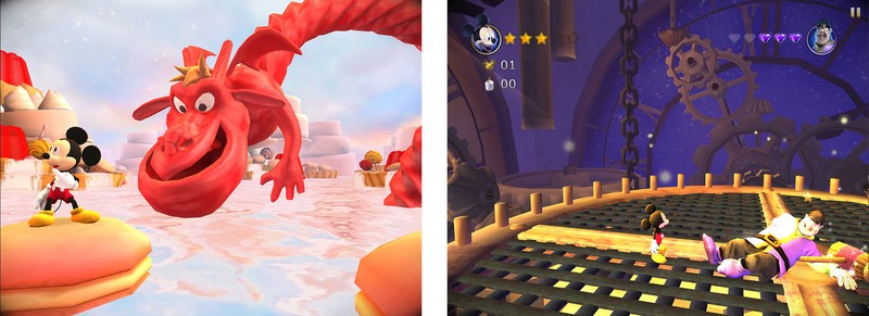 Castle of Illusion tips, tricks, and cheats: Defeating bosses at the end of each Act