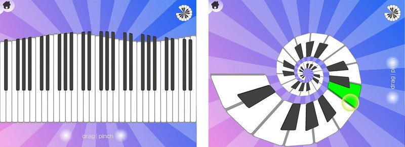 Best iPad apps for cats: Smule Magic Piano
