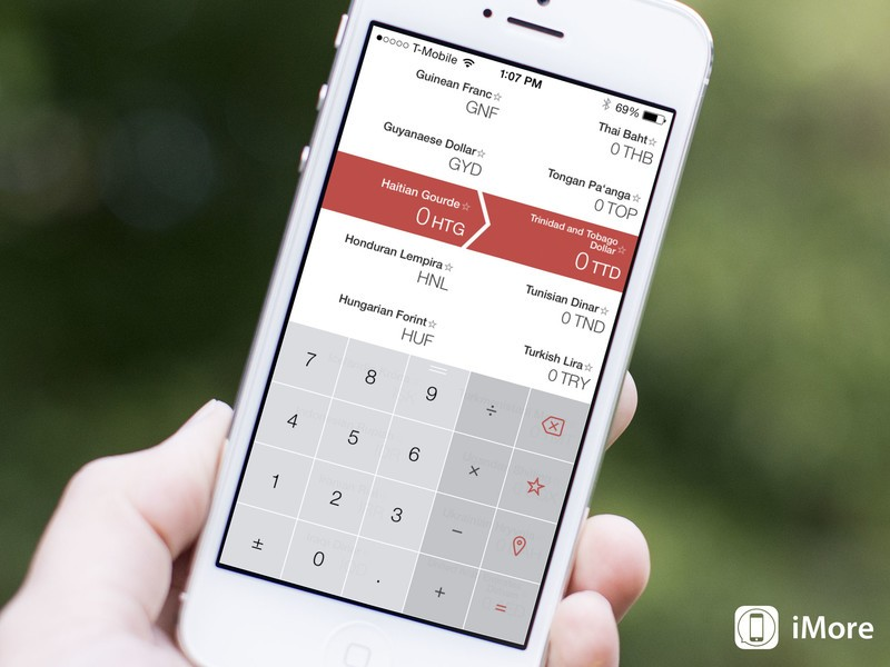 Vert conversion calculator goes universal for iPad, more