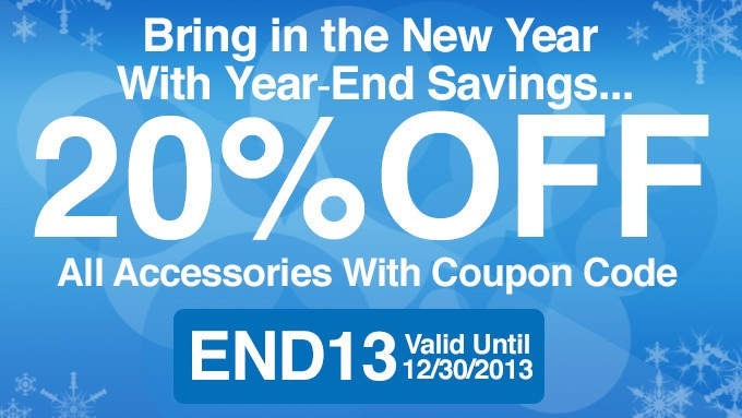 Save 20% on iPhone and iPad accessories during the iMore store year-end sale!!!
