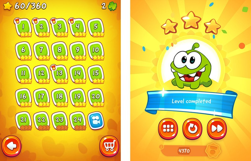 cut the rope experiments 2 24