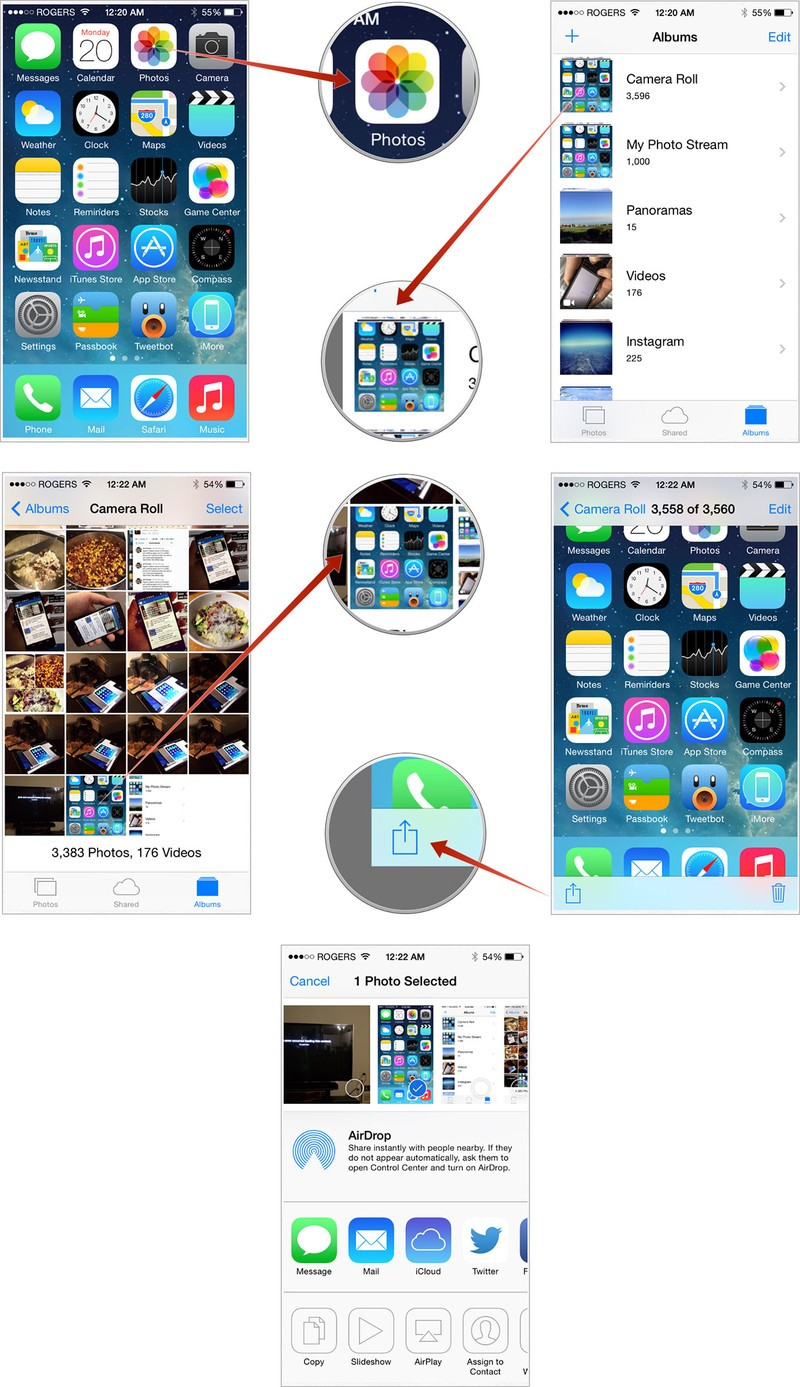 How To Take A Screenshot With The Iphone