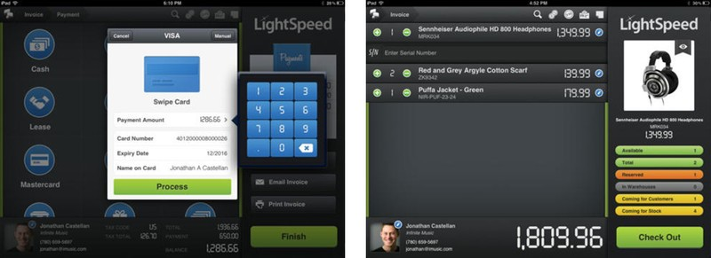 Best point of sale apps for iPhone and iPad: LightSpeed Retail
