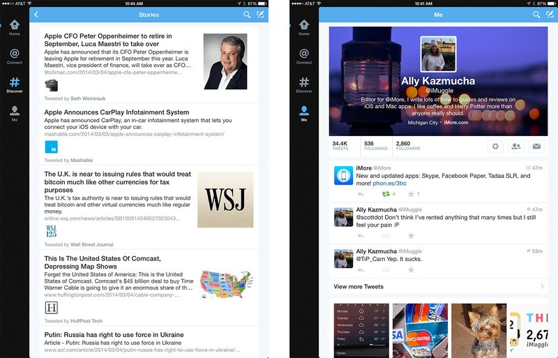 Best Twitter apps for iPad: Twitter