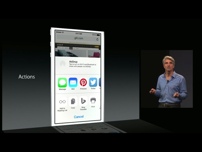 Action extensions in iOS 8: Explained