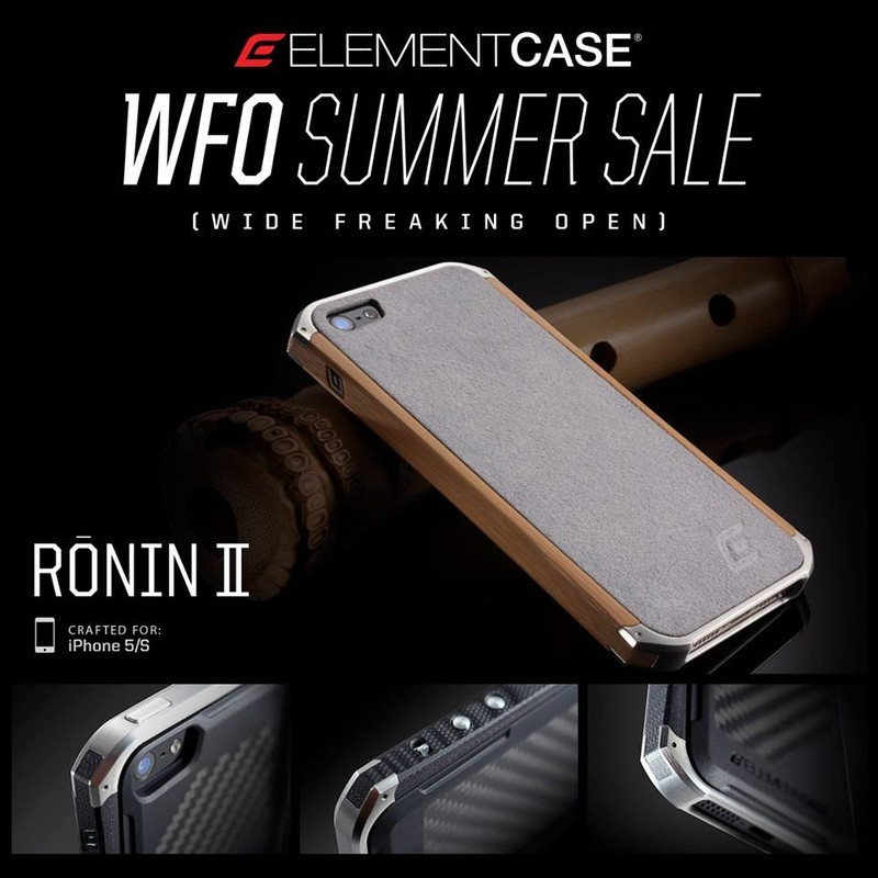 WFO summer sale at Element Case