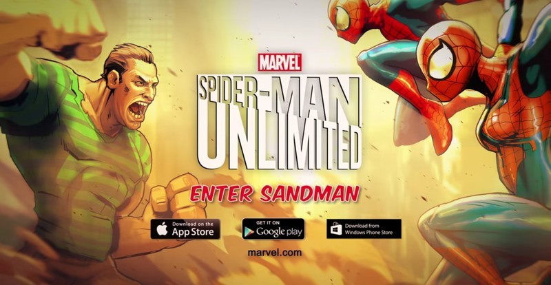 Spider-Man Unlimited update weaves in new levels and bosses Enter Sandman