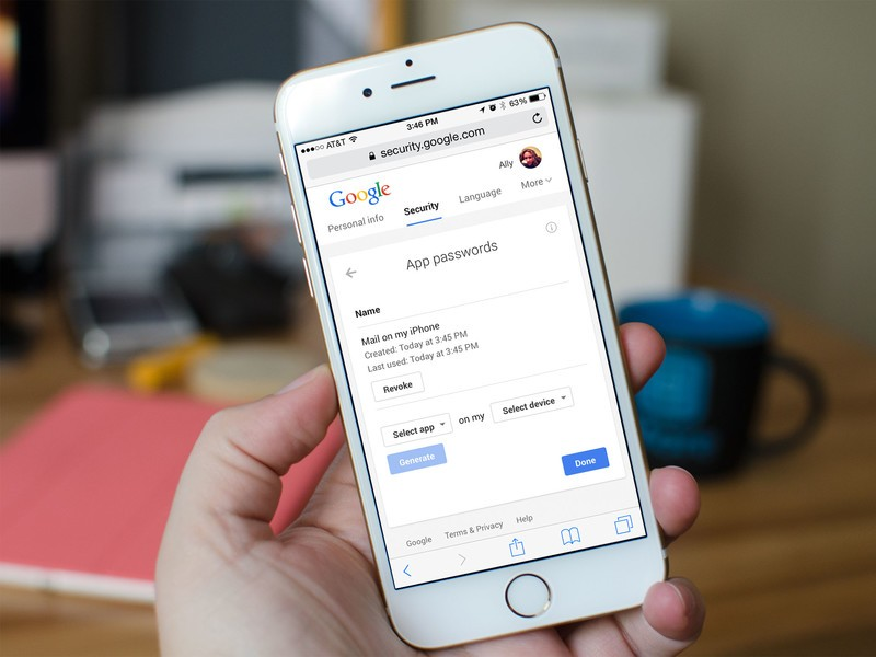 How to add a Gmail or Google apps account to your iPhone or iPad using an app-specific password