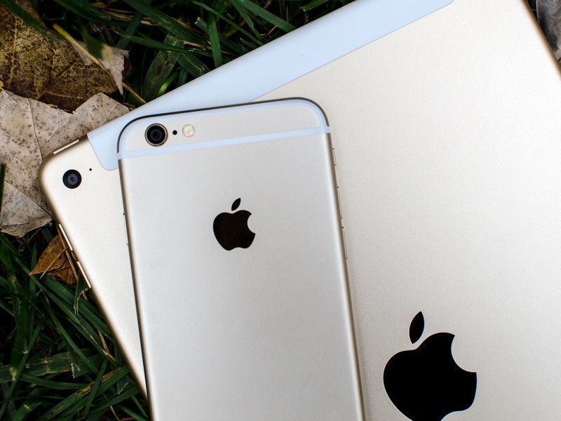 iPad Air 2 vs iPhone 6 camera comparison