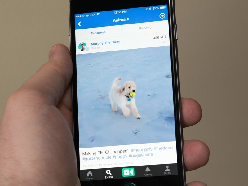 Vine update lets you share to multiple social networks at once