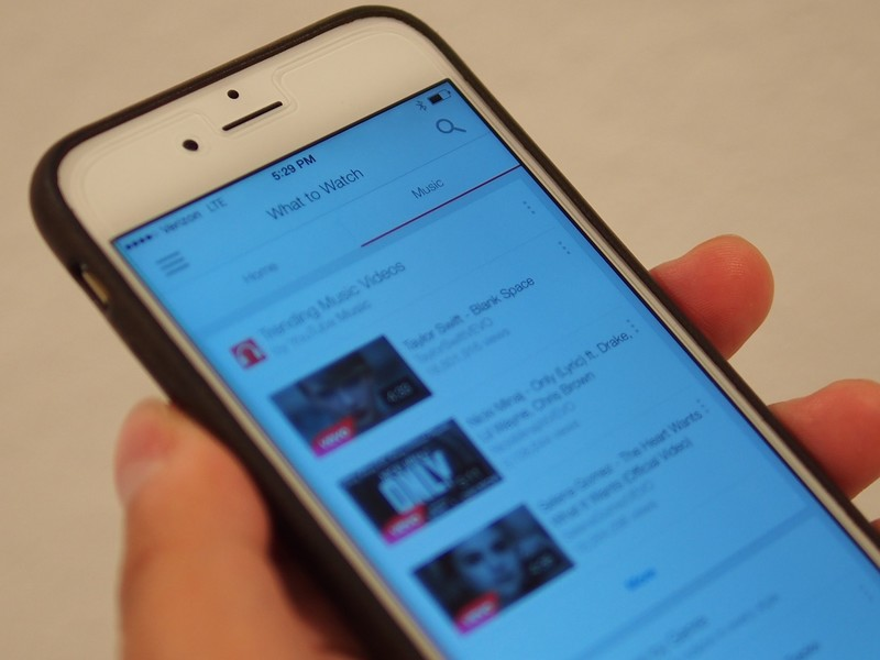 YouTube for iOS nabs an update, brings improved music features