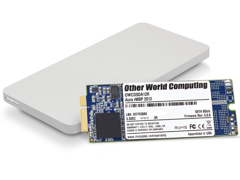 OWC announces 1TB SSD for MacBook Pro with Retina display