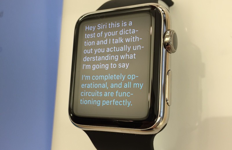 Here's everything Siri can do on your Apple Watch