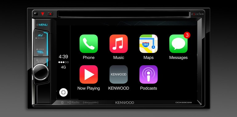 Kenwood Debuts Two New Receivers With Carplay On Board Imore