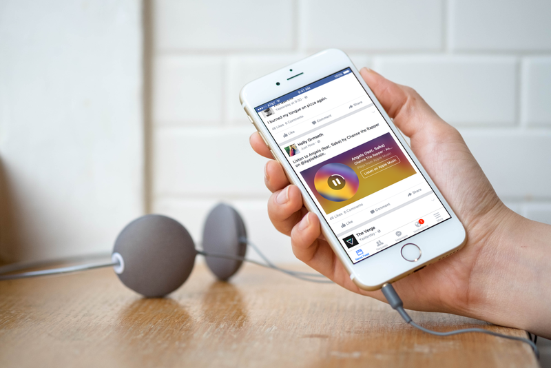 Facebook's Music Stories make it easy to share your favorite tracks from Apple Music, Spotify