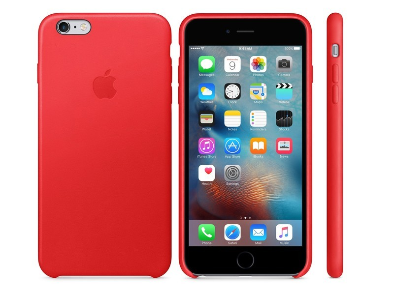 Apple s leather iPhone 6s and 6s Plus cases now come in (Product) Red  bb3e8311940d