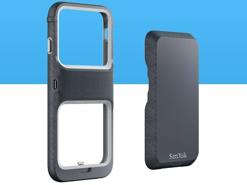 more photos e739d 9b50d SanDisk's new iPhone 6 and 6s case doubles as a Flash storage drive ...