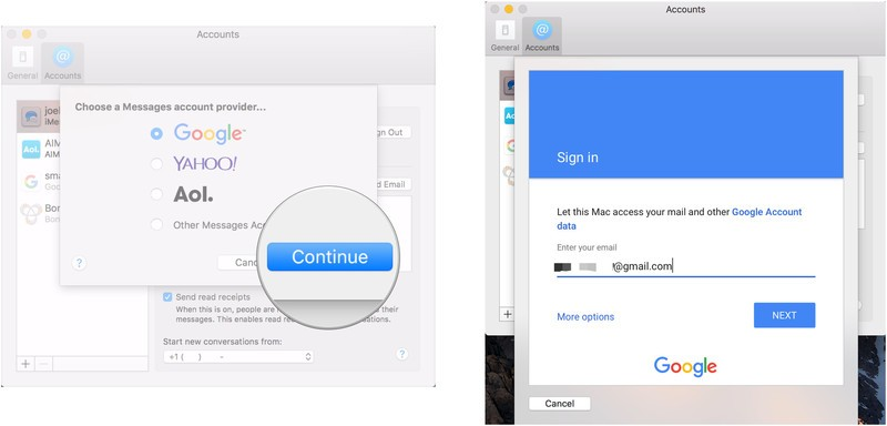 How to set up third-party messaging services in Messages for Mac | iMore