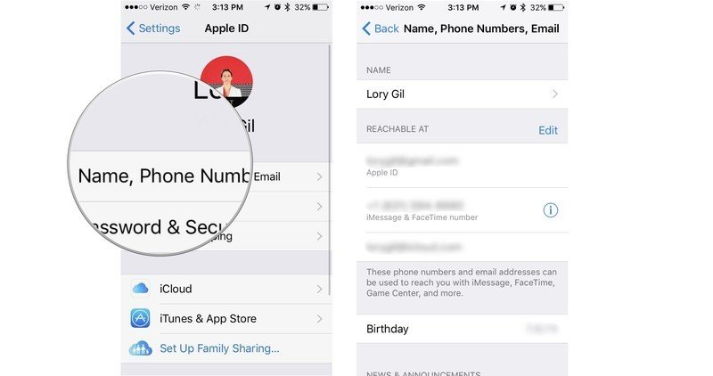 How to change your Apple ID email address, contact info, and