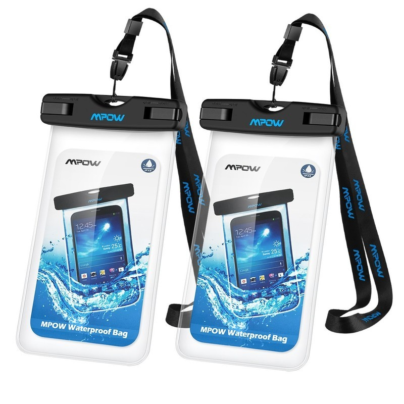 28baaa11159 Simple closure for quick access · Mpow universal waterproof case