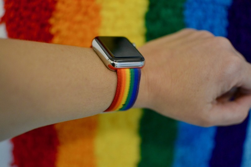 Apple Watch band pride