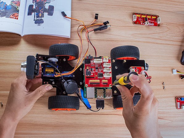 Build Your Own Car Kit >> Build your own remote controlled car with this $150 ...