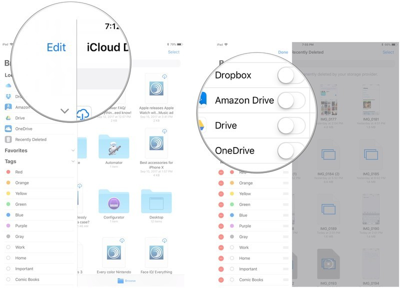 How to use Dropbox, Google Drive, OneDrive, and other could