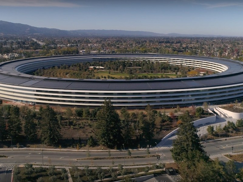 Drone Footage Shows Apple Park Does In Fact Look Like A