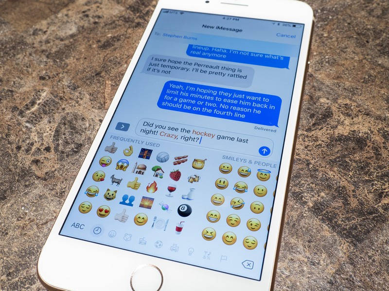 How To Use Emoji And Tapbacks In Imessage On Iphone And Ipad Imore