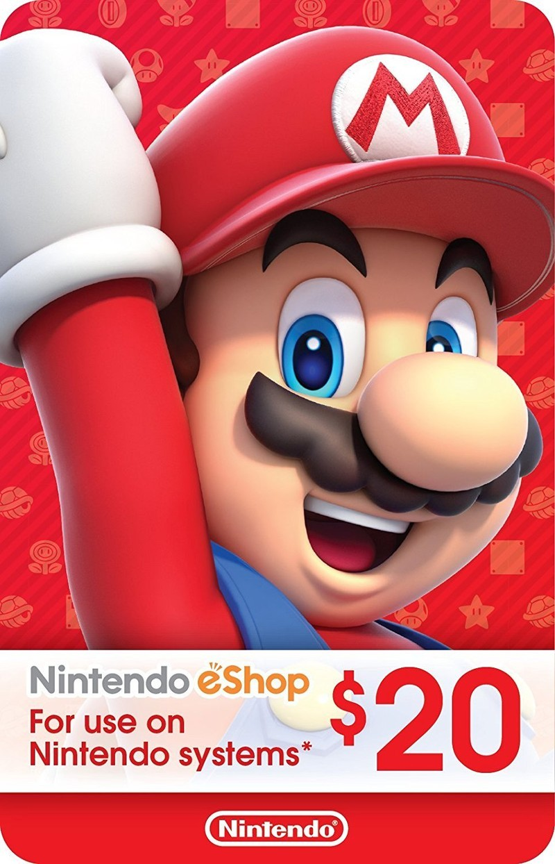 Where to buy nintendo switch gift cards imore amazon carries several different gift cards for the eshop that you can download after purchase whether youre looking to pay 5 or up to 70 on that negle Image collections