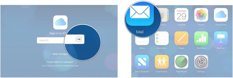 To remove a suggested contact in the Mail app on your Mac or PC, go to iCloud.com in your web browser, enter your login credentials, then click on the Mail app.