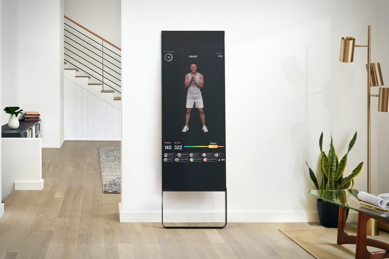 The Mirror Interactive Home Gym Gives You A Workout
